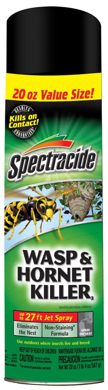 Spectracide 100046033 Wasp & Hornet Killer3 (Aerosol) (HG-95715) (20 oz), Case Pack of 1