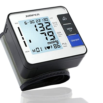 Jumper Automatic JPD 900W Medical Wrist Blood Pressure Monitor CuffDigital Electronic BP Meter Pulse