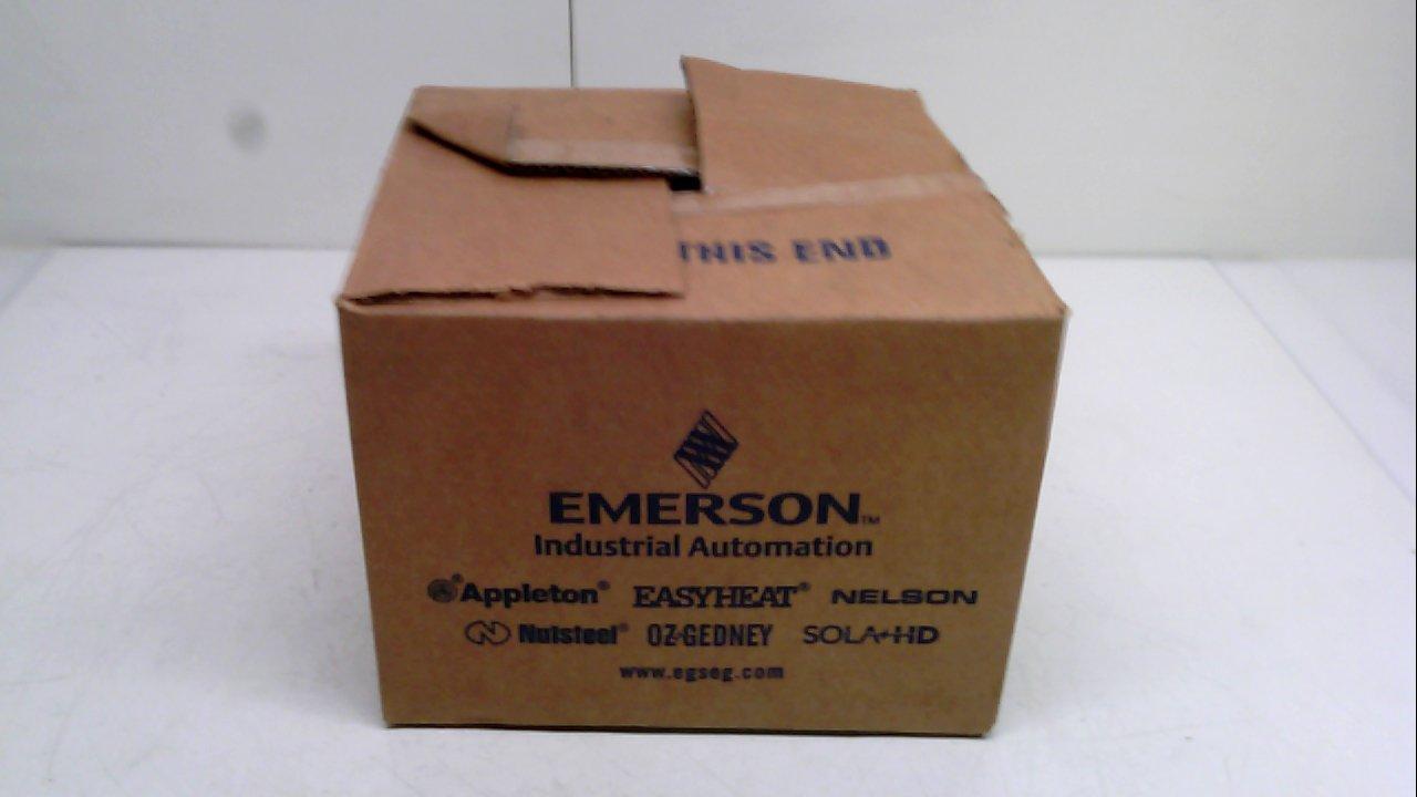 Appleton Efsrgfi, Control Assembly Cover, Current: 20 Amp Efsrgfi
