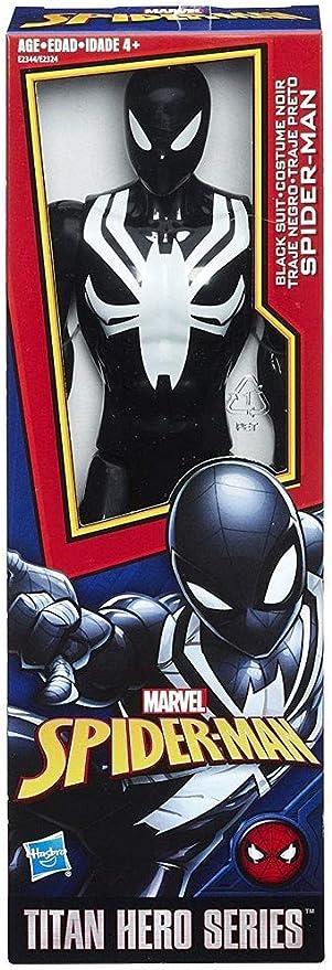 Spider-Man Titan Hero série Web Warriors Costume Noir Spider-Man