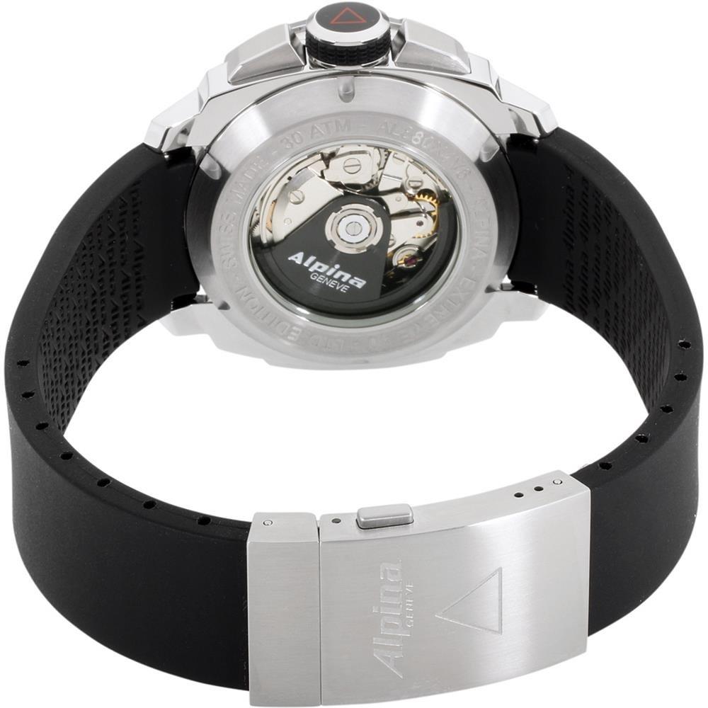 Alpina Seastrong Automatic Movement Black Dial Men Watch AL880LBG4V6