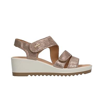 scarpe esclusive comprare in vendita migliore collezione IGI&CO Sandali Zeppa Taupe Scarpe Donna 11735 40: Amazon.it ...