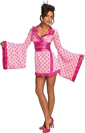 Disfraz de Geisha Playboy para mujer: Amazon.es: Juguetes y juegos