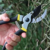 TOOLMOOM Hand Pruner Professional Pruning Shears Heavy Duty Garden Shears, Clippers for The Garden,Tree Trimmers