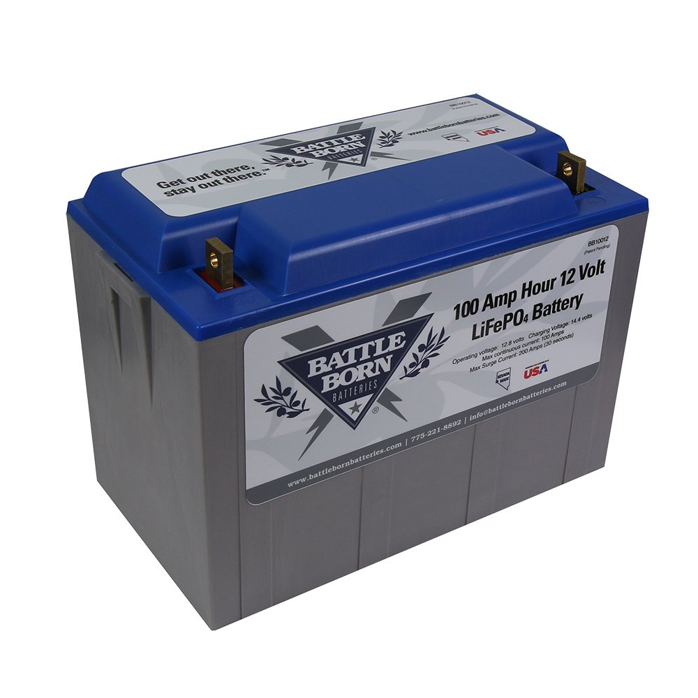 100 Ah Lifepo4 12 Volt Deep Cycle Battery Sports Upgrading My Rv Bank And System Outdoors