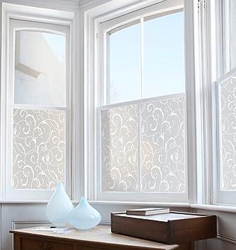 Rabbitgoo Statische Fensterfolie Blickdicht Sichtschutzfolie