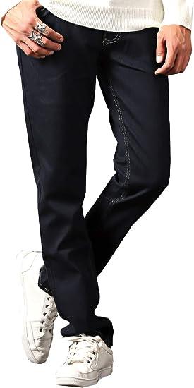 LUX STYLE(ラグスタイル) デニムパンツ メンズ ボンディング 裏シャギー ジーンズ 暖