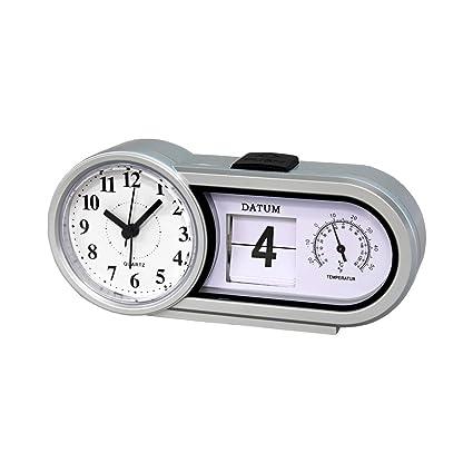Genius Ideas ® - Reloj de Escritorio - Fecha + Temperatura ...