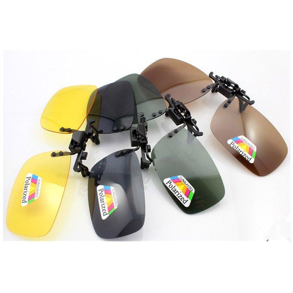Souvent Flip Up polarisant Blend Verres de lunettes de soleil Clip Sun  Lunettes de clip Driving 5f5d59ce9106