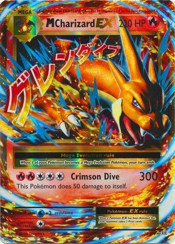 amazon com pokemon mega charizard ex 13 108 xy evolutions