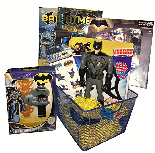 Batman Ultimate Gift Basket - Perfect for Easter, Birthday, Christmas, Get Well, or Other Occasion