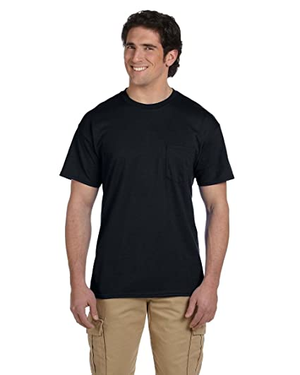 0d7e86aa7f6a Gildan - DryBlend 50/50 T-Shirt with a Pocket - 8300 | Amazon.com