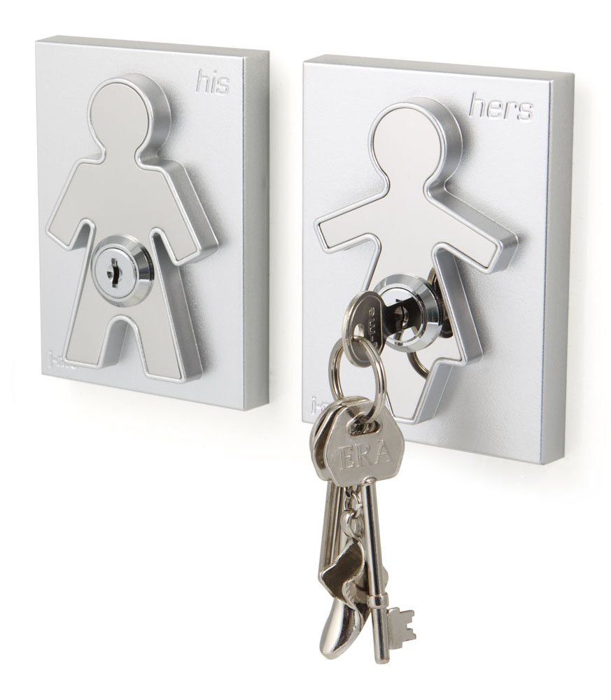 Amazoncom His and Her Key Holder Home Kitchen