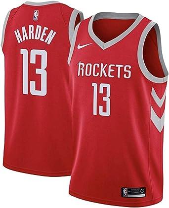 NIKE HOU M Nk Swgmn JSY Road - Camiseta 2ª Equipación Houston Rockets 17-18 de Baloncesto Hombre: Amazon.es: Ropa y accesorios
