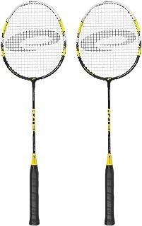 Spokey Badmintonschläger Set - dynamisch präzise 2 Schläger für anspruchsvoll...