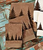 Pinewood Forest Towel Set - Brown