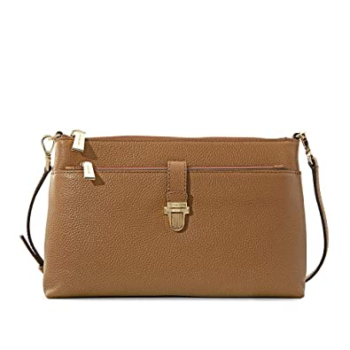 580619e0d040 Michael Kors Mercer Large Snap Pocket Crossbody Bag - Acorn: Handbags:  Amazon.com