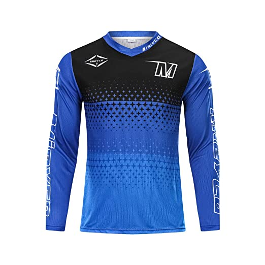Mieyco Long Sleeve Moisture Wicking Downhill Cycling Jersey MTB Clothing  Sports wear (S) 8b16de9f0