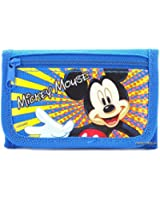 Disney Mickey Mouse Blue Trifold Wallet - 1 WALLET