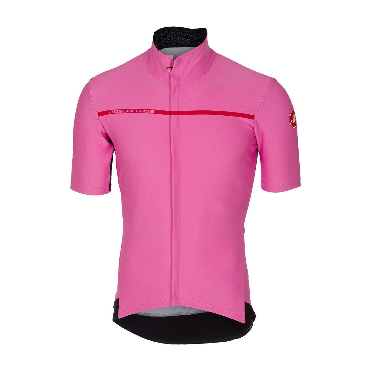 CastelliメンズGabba 3半袖サイクリングjacketb17084 B076ZSX6F6 Large Giro Pink Giro Pink Large