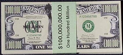 Set Of 100 Million Dollar Bills