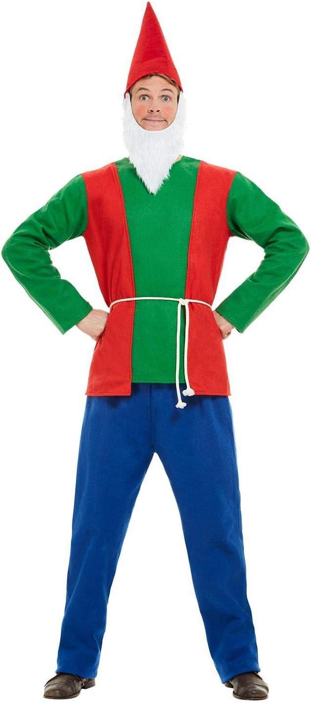 Smiffys 50963XL - Disfraz de gnomo para hombre, talla XL, 116,84 ...