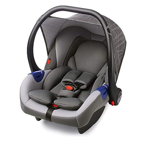 Hot Mom Silla de Coche Group 0 para recién nacido, para bebés de 0 a 13 kg de peso, compatible con el cochecito Hot Mom, sin base ISOFIX, instalar con ...