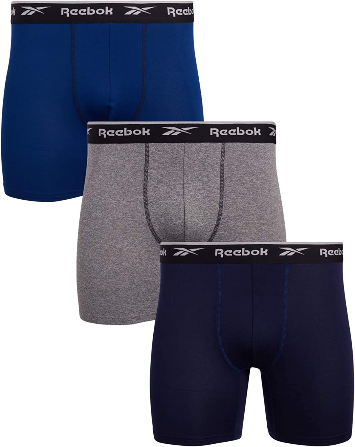 Meccanica guida istruttore  Reebok Men's Sport Soft Performance Boxer Briefs (3 Pack): Amazon.ca:  Clothing & Accessories