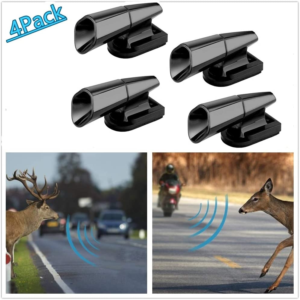 Super repairman 4PCS Save A Deer Whistles Deer Warning Devices for Cars /& Motorcycles Include Ultrasonic /& Wind Whistle Car Safety Accessories Gift