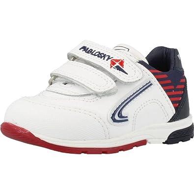 Zapatillas para niï¿œa, color Blanco , marca PABLOSKY, modelo Zapatillas Para Niï¿œa PABLOSKY ZX FLUX ADV Blanco: Amazon.es: Zapatos y complementos