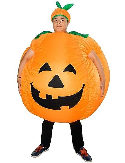 dc976652cf2 Amazon.com: LETSQK Inflatable Pumpkin Costume Adults Halloween Fancy ...