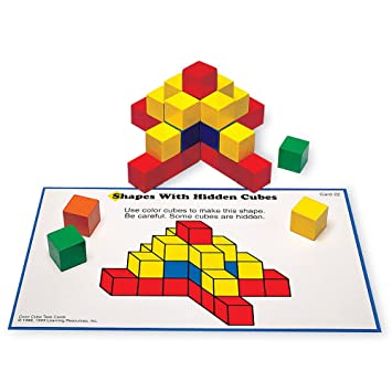 amazon co jp creative color cubes activity set おもちゃ