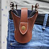 Cool-5-in-1-Hunting-Wolf-Catapult-Slingshot-Genuine-Leather-Pouch-Bag2xrubber-Band4mm-Ball-Ammo