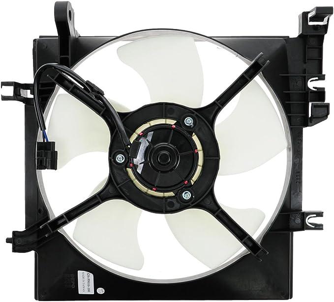 Radiator Cooling Fan Motor Blade LH Left Driver for Subaru Impreza Forester 2.5L