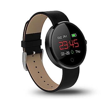 Smart bracelet LL-Reloj inteligente reloj de pantalla táctil Bluetooth reloj de pulsera de fitness Recordatorio de mensajes Relojes inteligentes para ...