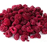 TentMeals Freeze Dried Whole Raspberries (200g). Great for Baking and Decorating Cakes