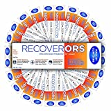 RecoverORS Clinical electrolytes | for Food Poisoning, Hangover, Diarrhea, Travel for Adults