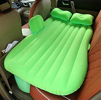Lameila Coche inflable cama hinchable Camping Asiento Trasero ...