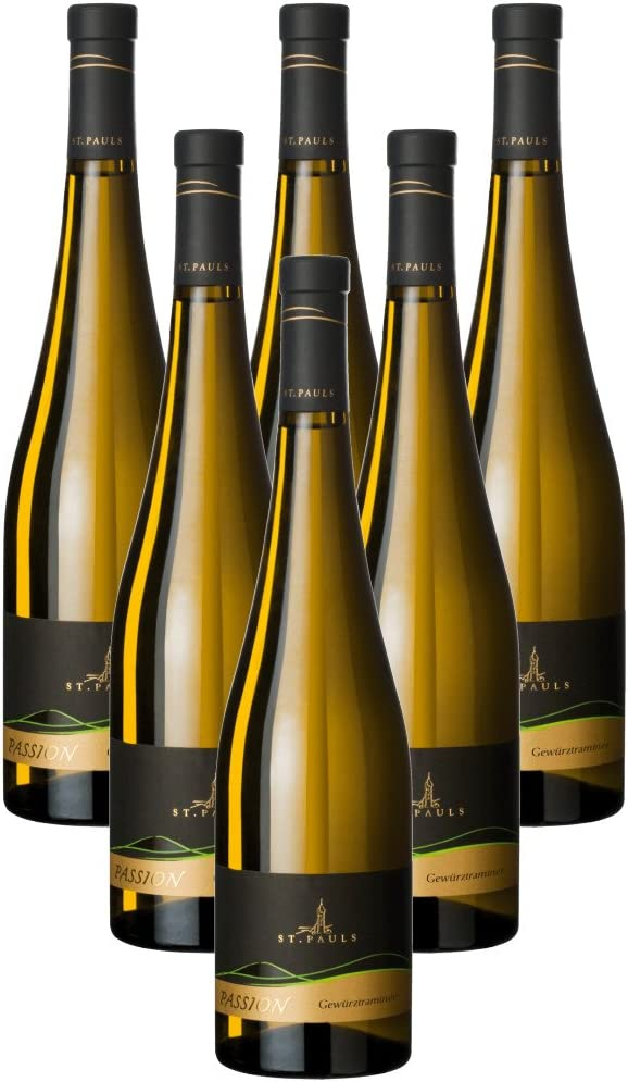 Weissburgunder Pinot Bianco Passion San Paolo 6 X 75 cl.: Amazon ...