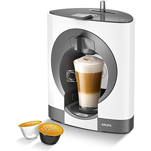 Nescafe Dolce Gusto Oblo Coffee Capsule Machine by Krups in White