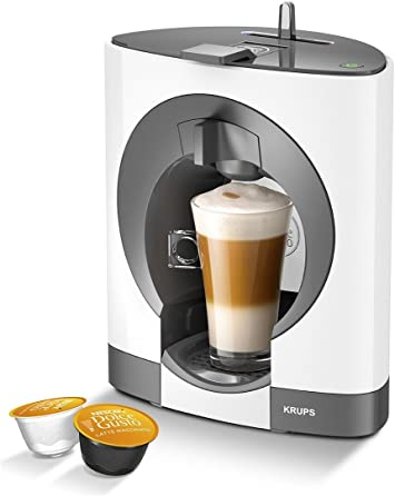 Nescafe Dolce Gusto Oblo Manual Coffee Machine By Krups White