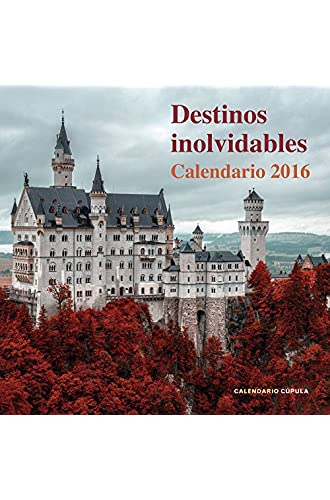 Calendario Destinos Inolvidables 2016