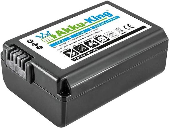Akku King Akku Kompatibel Mit Sony Np Fw50 Li Ion Kamera
