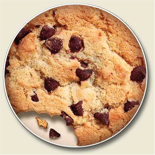 Chocolate Chip Cookie Coaster Single product image
