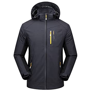 LaoZan - Chaqueta Softshell Alpina - Outdoor Impermeable y ...