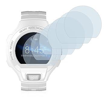 Savvies Protector de Pantalla para Alcatel Go Watch [6 Unidades]: Amazon.es: Electrónica