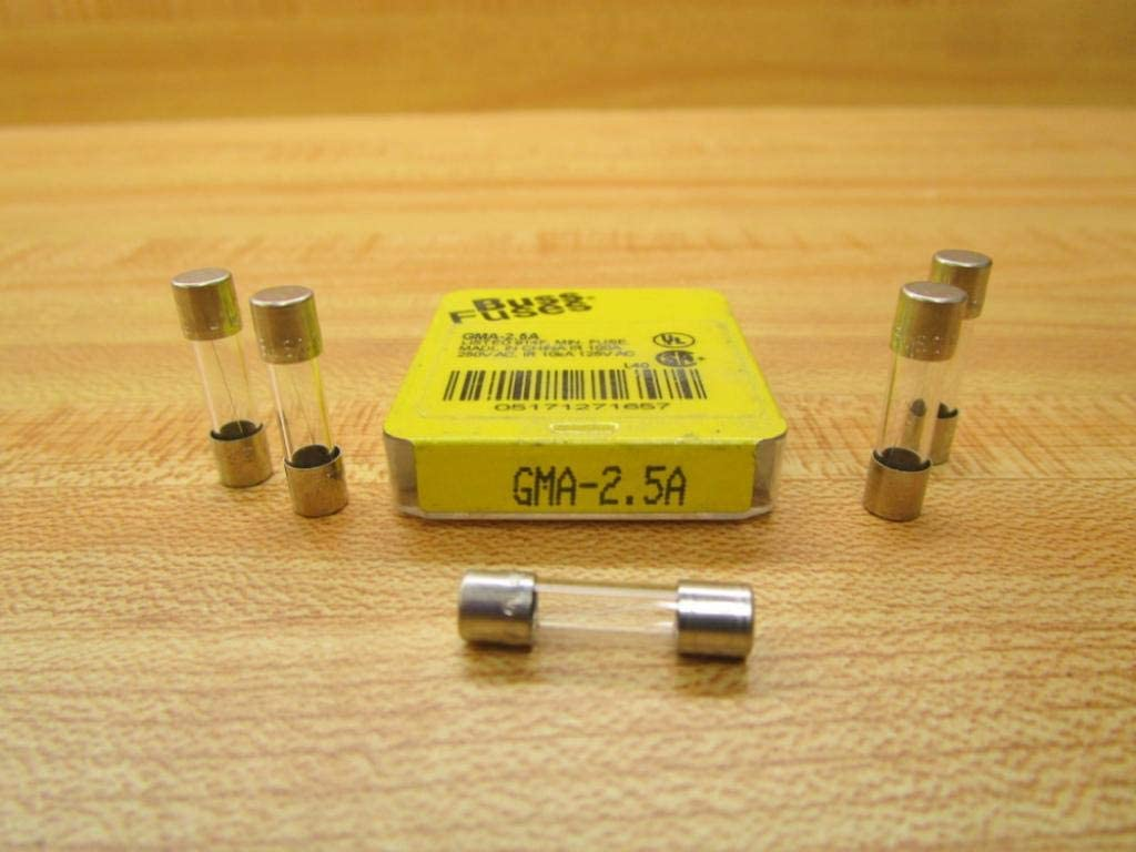 8 Amp // 250 Volt Quick Fast Blow Glass Tube Fuse 8 Amp FUSES  5x20mm