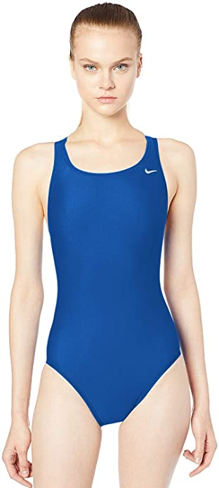 Nike Women's Swim Core Solids Fast Back Tank Badeanzug Königsblau