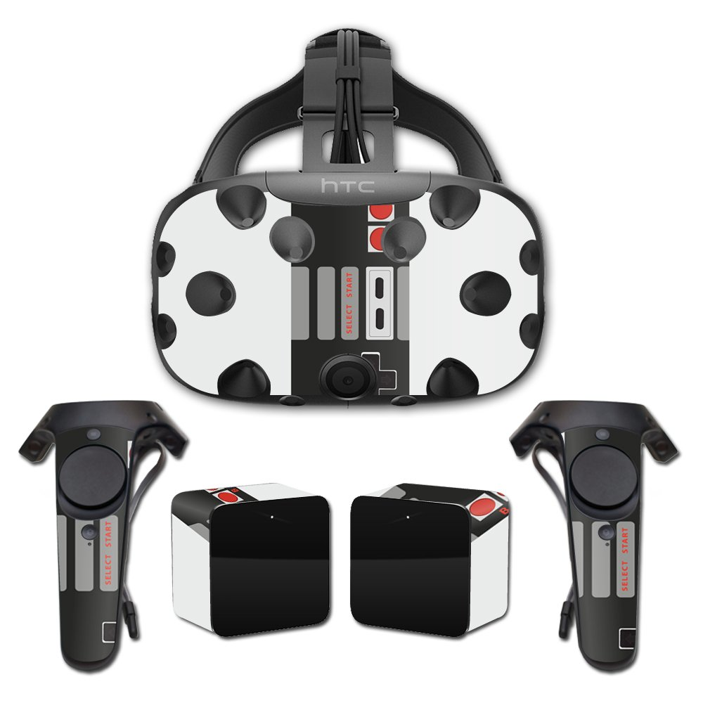 MightySkins Skin For HTC Vive Full Coverage - Retro Gamer 3 | Protective, Durable, and Unique Vinyl Decal wrap cover | Easy To Apply, Remove, and Change Styles | Made in the USA