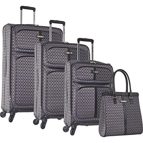 ninewest-an-adventure-4-piece-luggage-set-grey-black